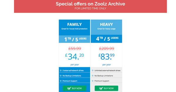 Prix Zoolz Archive