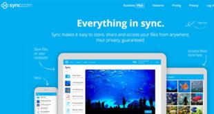 Stockage en ligne Sync.com