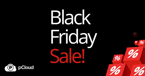 Black Friday pCloud