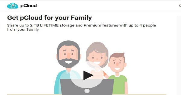 Family Plan pCloud