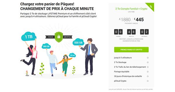 Promo pCloud Pâques