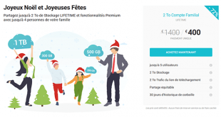 Promo Noël pCloud