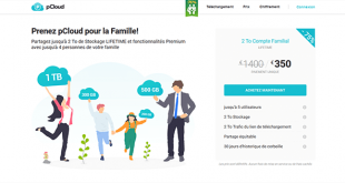 Offre pCloud Famille